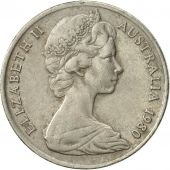 Australia, Elizabeth II, 10 Cents, 1980, EF(40-45), Copper-nickel, KM:65