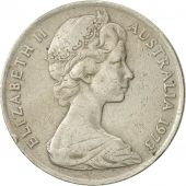 Australia, Elizabeth II, 10 Cents, 1973, EF(40-45), Copper-nickel, KM:65
