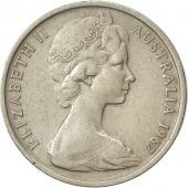 Australia, Elizabeth II, 10 Cents, 1967, EF(40-45), Copper-nickel, KM:65