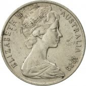 Australia, Elizabeth II, 10 Cents, 1983, AU(50-53), Copper-nickel, KM:65