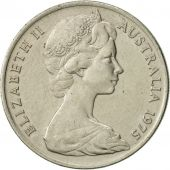 Australia, Elizabeth II, 10 Cents, 1975, AU(55-58), Copper-nickel, KM:65