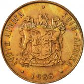 South Africa, 2 Cents, 1988, EF(40-45), Bronze, KM:83
