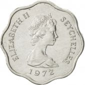 Seychelles, 5 Cents, 1972, British Royal Mint, AU(55-58), Aluminum, KM:18