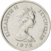 Seychelles, Cent, 1972, British Royal Mint, AU(55-58), Aluminum, KM:17