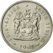 South Africa, 5 Cents, 1981, AU(55-58), Nickel, KM:84