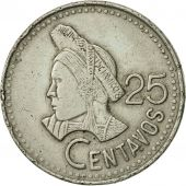 Guatemala, 25 Centavos, 1988, TTB+, Copper-nickel, KM:278.5