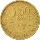 France, Guiraud, 50 Francs, 1951, Beaumont - Le Roger, KM:918.2