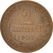 France, Dupuis, 2 Centimes, 1903, Paris, KM:841