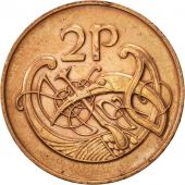 IRELAND REPUBLIC, 2 Pence, 1979, TTB, Bronze, KM:21
