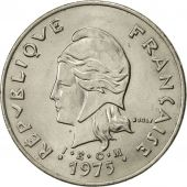 French Polynesia, 50 Francs, 1975, Paris, SUP, Nickel, KM:13