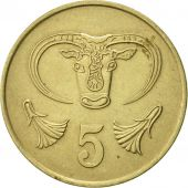 Chypre, 5 Cents, 1983, SUP, Nickel-brass, KM:55.1