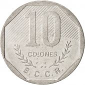 Costa Rica, 10 Colones, 1992, KM:215.1