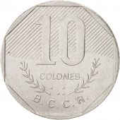 Costa Rica, 10 Colones, 1983, KM:215.1