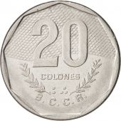 Costa Rica, 20 Colones, 1985, KM:216.2