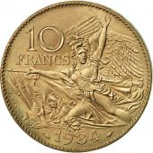 France, François Rude, 10 Francs, 1984, Paris, SUP+, Nickel-Bronze, KM:954