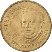 France, Stendhal, 10 Francs, 1983, Paris, SUP+, Nickel-Bronze, KM:953