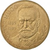 France, Victor Hugo, 10 Francs, 1985, Paris, SUP+, Nickel-Bronze, KM:956