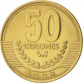 Costa Rica, 50 Colones, 1999, KM:231.1