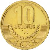 Costa Rica, 10 Colones, 2002, KM:228.2