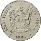 South Africa, 20 Cents, 1985, EF(40-45), Nickel, KM:86