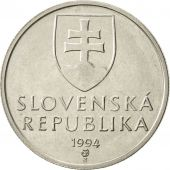 Slovaquie, 5 Koruna, 1994, TTB+, Nickel plated steel, KM:14