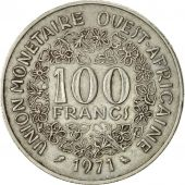 West African States, 100 Francs, 1971, Paris, SUP, Nickel, KM:4