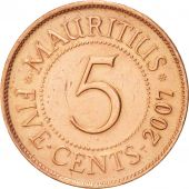 Maurice, 5 Cents, 2007, KM:52