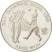 KOREA-SOUTH, 10000 Won, 1987, SUP+, Argent, KM:63