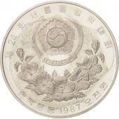 KOREA-SOUTH, 5000 Won, 1987, SPL, Argent, KM:60