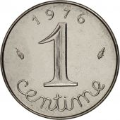 France, Épi, Centime, 1976, Paris, MS(65-70), Stainless Steel, KM:928
