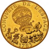 France, La conquête, 10 Francs, 1983, FDC, Nickel-Bronze, KM:952, Gadoury:816