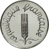 France, Épi, Centime, 2001, Paris, MS(65-70), Stainless Steel, KM:928