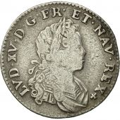 France, Louis XV, 1/6 Écu (XX – S) de France-Navarre, 1/6 ECU,1719,Paris,KM440.1