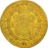 Colombie, Charles IV, 8 Escudos, 1803, Popayan, TTB, Or, KM:62.2