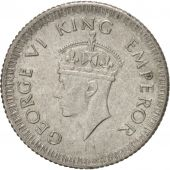 INDIA-BRITISH, George VI, 1/4 Rupee, 1943, Silver, KM:546