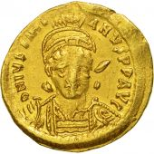 Justinian I 527-565, Solidus, Constantinople, TTB, Or, Sear:137