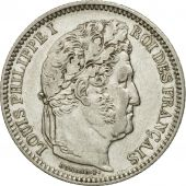 France, Louis-Philippe, 2 Francs, 1848, Paris, AU(55-58), Silver, KM:743.1