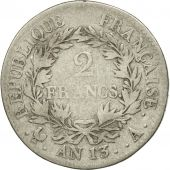 France, Napoléon I, 2 Francs, 1805, Paris, F(12-15), Silver, KM:658.1