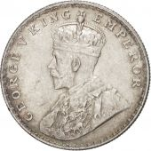 INDIA-BRITISH, George V, Rupee, 1918, Bombay, Silver, KM:524