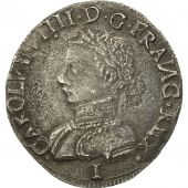 Charles IX, Teston, 1562, Limoges, EF(40-45), Silver, Sombart:4614