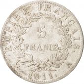 France, Napoleon I, 5 Francs, 1811 A, Paris, Silver, KM:694.1
