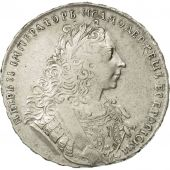 Russia, Peter II, Rouble, 1729, EF(40-45), Silver, KM:182.3