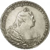 Russia, Anna, Rouble, 1740, Moscow, EF(40-45), Silver, KM:203