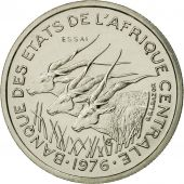 États de lAfrique centrale, 50 Francs, 1976, Paris, FDC, Nickel, KM:E8