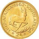 Coin, South Africa, 2 Rand, 1962, MS(60-62), Gold, KM:64