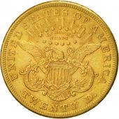 États-Unis, Liberty Head, $20, Double Eagle, 1875, Carson City, TTB, KM 74.2