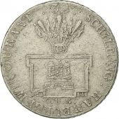 German States, HAMBURG, 32 Schilling, 2 Mark, 1789, Hamburg, EF(40-45), KM 460