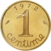 France, Centime, 1972, FDC, Or, Piéfort, KM:P439, Gadoury:4.P3