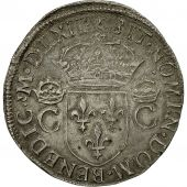 France, Charles IX, Teston, 1562, Toulouse, AU(50-53), Silver, Sombart 4602