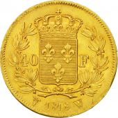 France, Louis XVIII, 40 Francs, 1818, Lille, SUP, Or, KM:713.6, Gadoury 1092